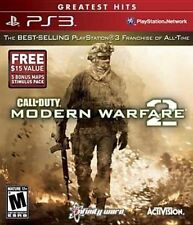 Call of Duty Modern Warfare 2 Sony PlayStation 3 Ps3 CIB Original Case Manual S7