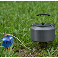 Camping Outdoor 2L Water Kettle Hiking Teapot Coffee Boiling Aluminum Pot