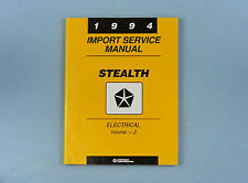 Import Service Manual, Electrical - Vol. 2, 1994 Dodge Stealth, 81-270-4116