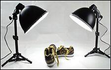 Mini Studio Kit di illuminazione continua con lampadine 2X45W 5500K 0.7M Supporto Luce