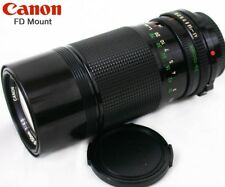CANON FD Mount 70-150mm f:4.5 MACRO Zoom Lens AE-1, A T F Series++ T70~T90 XLNT