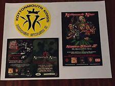 Kottonmouth Kings Sticker Hidden Stash II + 2 PROMO CARDS '01,'02 MINT
