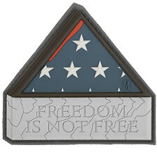 PVC Morale Patch - MAXPEDITION - FREEDOM is NOT FREE - SWAT colors - Hook & Loop