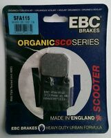 EBC Organic FRONT Disc Brake Pads Fits PEUGEOT SPEEDFIGHT 100 (1997 to 2008)