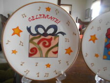 Holiday Gifts Salad Dessert Plate 8