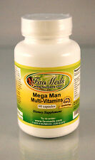 Mega Man ~ 60 capsules multi-vitamins, Tribulus Terrestris ginseng. Made in USA.
