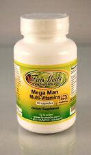 Mega Man ~ 60 capsules multi-vitamins, Tribulus Terrestris ginseng. Made in USA.