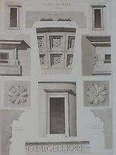 D'Espouy. Temple De Vesta A Tivoli. #2.
