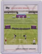 2012 TOPPS OLYMPIC VENUES CARD LORD'S CRICKET GROUND #SOV-15 ~ MULTIPLES