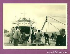 ESPAGNE ALGESIRAS : ARRIVÉE DU FERRY VIRGEN DE AFRICA CEUTA CIRCA 1950 Réf B 15