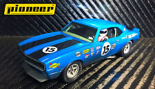 Pioneer Slot Car P045 Chevrolet Camaro Blue