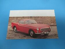 Volvo P1800 Sports Coupe Chester N.Y. Vintage Factory Postcard PC33