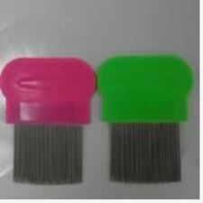 Removes Lice Dandruff Hair Comb Magic Suyod Set of 2 - PINK/GREEN