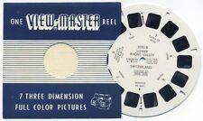 LOWER RHONE VALLEY Switzerland 1958 Belgium-made ViewMaster Single Reel 2050-B