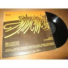 BILL DODGE - swinging '34, vol. 2 - OLD JAZZ 1934 MELODEON Lp