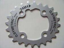 Osymetric Elliptical 24 tooth mountain bike chainring 4 bolt 64mm BCD (1981)