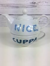 Jamie Oliver Cheeky Nice Cuppa Tea For One Set Cup & Teapot
