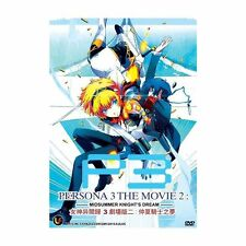 DVD Persona 3 The Movie 2 Mid Summer Knight's Dream English Sub_Free Shipping