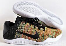Nike Kobe XI Elite Low Flyknit iD Multicolor-Gold 2016 Men 903710-993 Sz 13