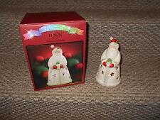 """Lighted Lenox """"Seasons Sparkle"""" Santa Figurine w Box!"""