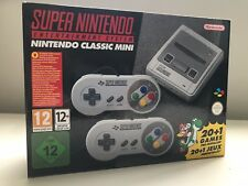 Mini Clásico De Snes Consola Super Nintendo Entertainment System BRAND New Reino Unido