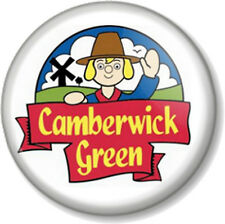 "Camberwick Green 1"" 25mm Pin Button Badge Old Cartoon Retro Kids TV Stop motion"