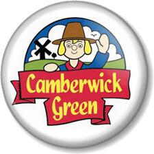 "Camberwick Green 1"" 25mm Pin Button Badge Old Cartoon Retro Kids TV Stop motion"