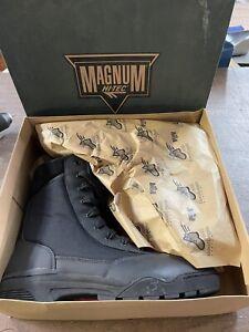 Hi-Tec Magnum BLACK  Tactical Police SWAT Military combat boots mens 13 NEW