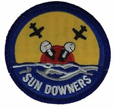 "VF-111 ""SUN DOWNERS"" FIGHTER SQUADRON PATCH - Color - Veteran Owned Business"