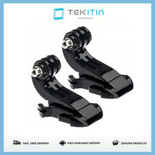 2x J-Buckle Hook for GoPro Go Pro Hero 1 2 3 4 5 & TEKcam 4K Action Camera