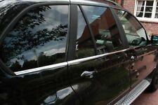 Molduras de ventana cromo para BMW X5 E53 Año 1999-2006 listones cromados
