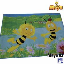 Tapis pour enfants MAYA L'ABEILLE / MA03 + WILLY 95x133 de jeu NEUF