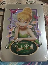 DISNEY TINKER BELL TINKERBELL DVD REAL 3D COLLECTIBLE TIN CASE NEW FREE SHIPPING
