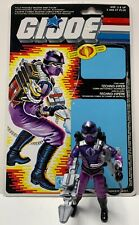 GI Joe Techno Viper V1 Complete from 1987 & Full Canadian File Card ARAH Cobra