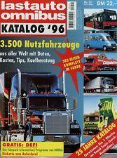 Lastauto Omnibus Katalog 1996 LKW Transporter Autokran Reisebus Kommunalfahrzeug