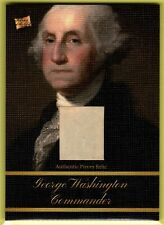 2020 Pieces of the Past ** GEORGE WASHINGTON  AUTHENTIC PIECES RELIC