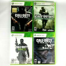 Call of Duty Bundle for XBOX 360 Warfare Black Ops Ghosts MW3 Free Shipping