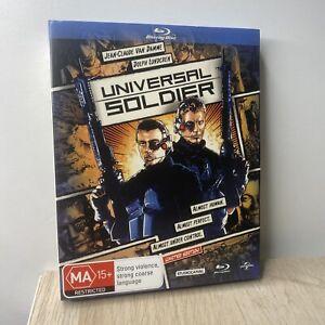 UNIVERSAL SOLDIER (2013) - Blu-Ray Graphic Slipcase Rare! Jean Claude Van Damme