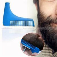 Peigne à barbe rasage professionnel / Beard cut modelling hair shaping styling