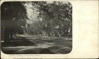 Litchfield CT South Street c1905 Postcard