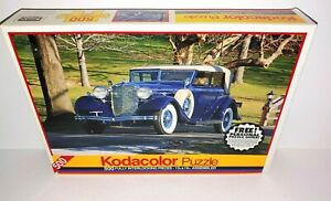"Kodacolor 500 Pc Jigsaw Puzzle 1933 Lincoln KB - 13"" x 19"""