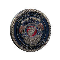 United States Marine Corps Commemorative Challenge Coin Collectible Gift Craft