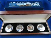 2012 THE BATTLE FOR AUSTRALIA SILVER PROOF COLLECTION of Silver Proof Coins