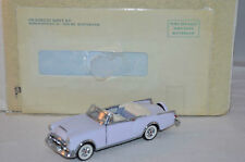 Franklin Mint Packard Caribean 1:43 Scale convertible 1953 mint in box