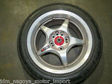 JDM Work Ewing RSA Forged 5 Spoke Wheel 4x114.3 Rim 16X8 +35, 5X114.3, (Rare)