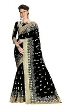 Net new latest Embroidery Saree for Indian Ethnic Wedding Party wear Sari K680