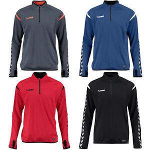 hummel Authentic Charge 1/4-Zip Kinder Trainings Sweatshirt Pullover 133406 neu