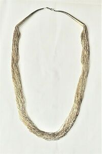 """Caraju 925 Silber Kette """"Silver Waterfall"""" Collier"""