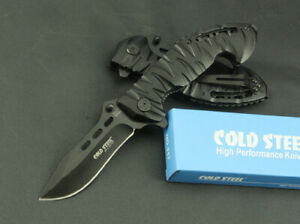 Cold Steel Folding Knife Pocket Knives Camping Hunting Fishing Survival Tactical