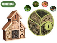 Heritage Fix Wooden Insect Hotel Nest Garden Home Shelter Bee Bug Ladybird Box